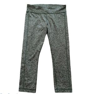 """Under Armour 22"""" Fitted Cropped Workout Leggings"""